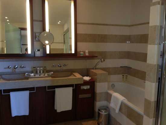 Grand Hyatt Cannes Hotel Martinez: Great bathroom