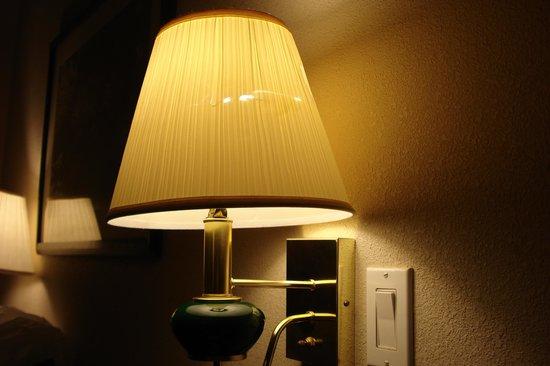 Wingate by Wyndham Alpharetta: torn lampshade