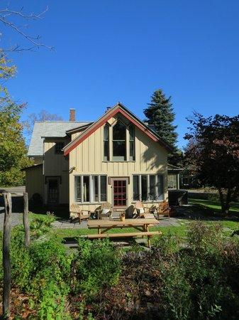 The Inn at Gothic Eves : Cute little backyard