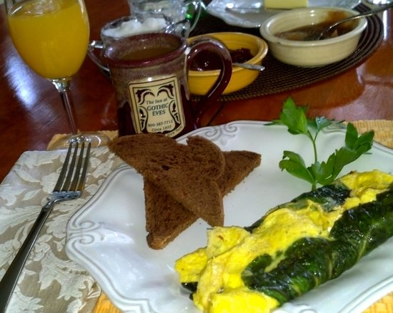 The Inn at Gothic Eves: another amazing breakfast!