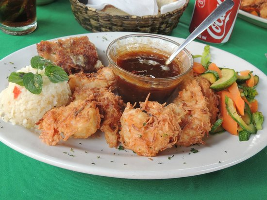 The Peacock Garden: Coconut Shrimp