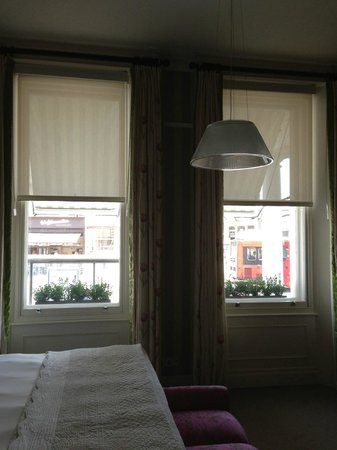 The Pelham Hotel: Room #2- look out onto street