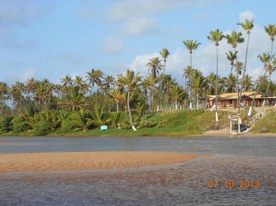 Pousada Luar Da Praia: Donde el rio desemboca en el mar, paisajes hermosos