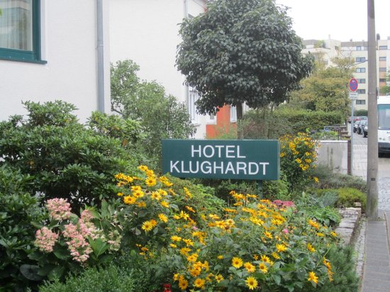 Klughardt Hotel: Sign