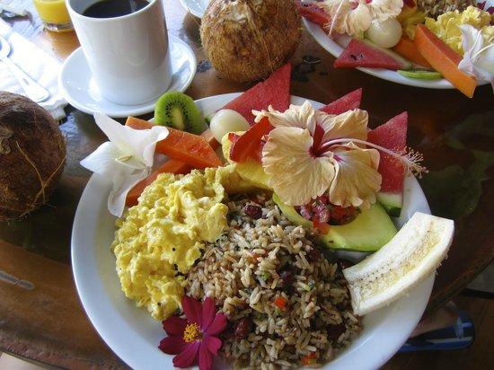 Casa Chameleon Hotel Mal Pais : Breakfast