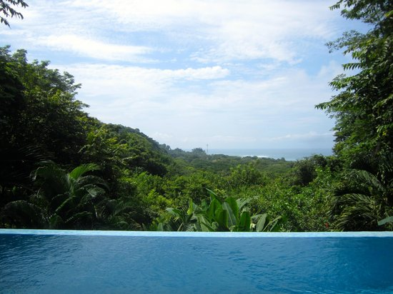 Casa Chameleon Hotel Mal Pais : View from Ultra