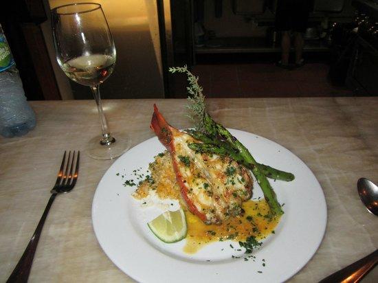 Casa Chameleon Hotel Mal Pais : Dinner.... yummoooo