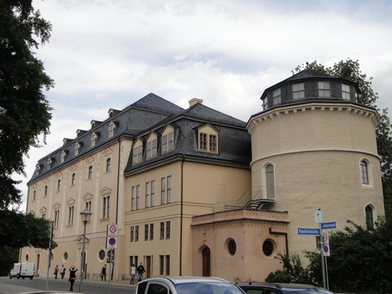 Herzogin Anna Amalia Bibliothek : Fachada