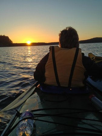 Spencer Spit State Park: kayaking with Outdoor Adventures