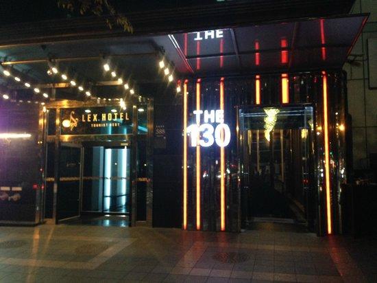 LEX Tourist Hotel: Entrance