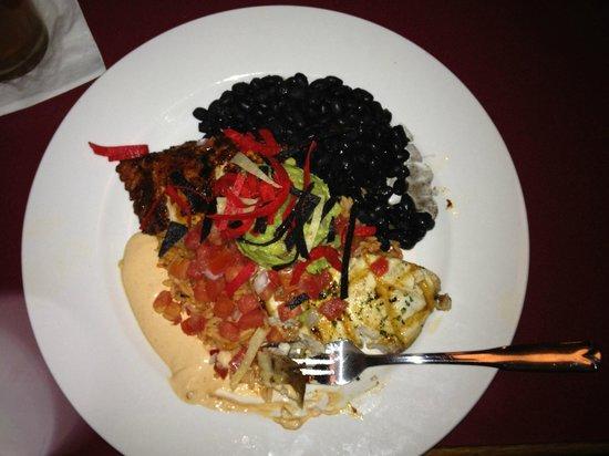 Black Pelican Oceanfront Restaurant: Swordfish