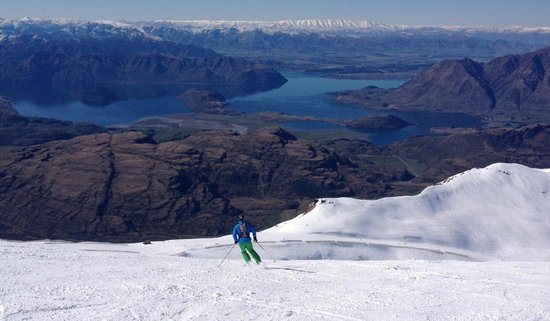 Treble Cone: View towards Wanaka