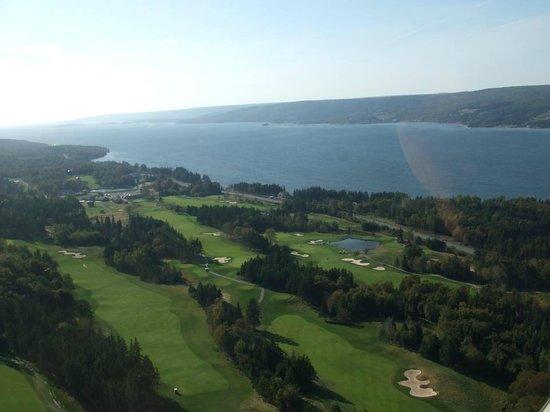 The Lakes Golf Club: A few holes at a birds eye view