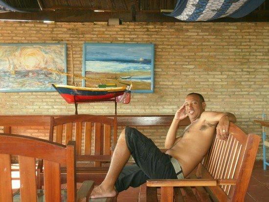 Ilha do Amor Hotel : Após café da manhã