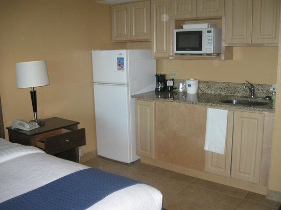 BEST WESTERN New Smyrna Beach Hotel & Suites: Full fridge, microwave, sink