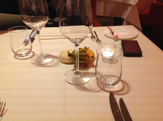 Restaurant Blauer Bock : Tisch