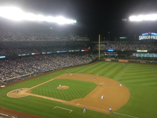 Safeco Field: View from right field level 3