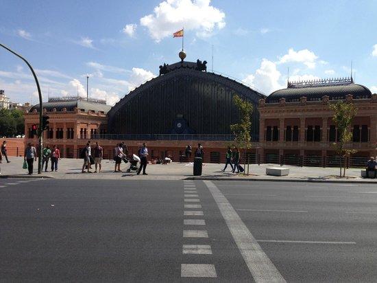Estacion de Atocha: vista da praça