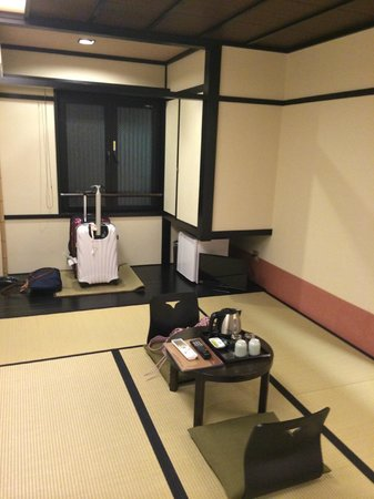 The Edo Sakura : our tatami room