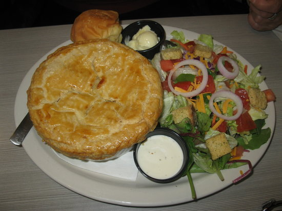Perkins Restaurant En Pot Pie