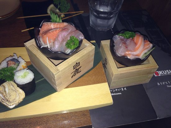 Kushi Japanese Restaurant: Sashimi