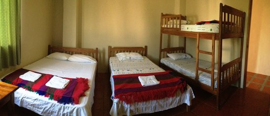 Hotel Manglaralto : habitacion quintuple
