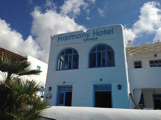 Harmony Boutique Hotel: Hotel