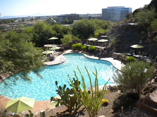 Phoenix Marriott Tempe at The Buttes : Resort Pool