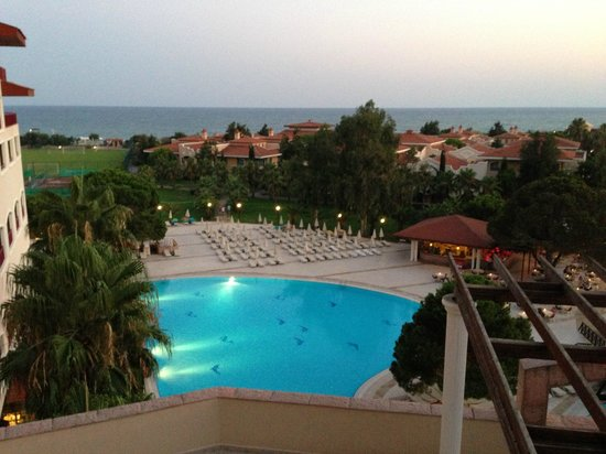 Sirene Belek Hotel: Вид сверху