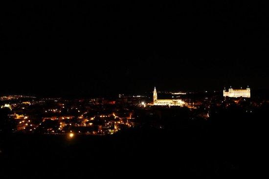 Parador de Toledo: 夜景
