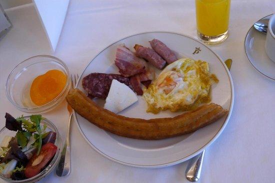 Parador de Toledo: 朝食