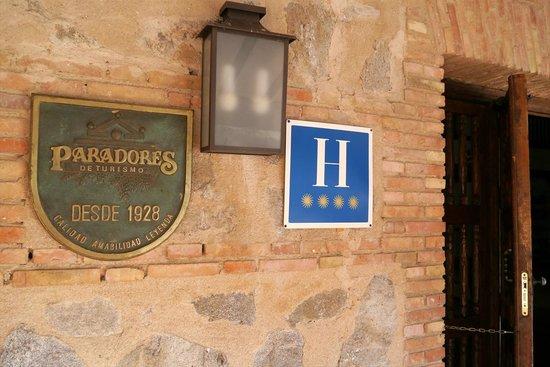 Parador de Toledo: 入口