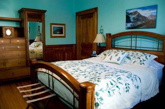 Alicion Bed & Breakfast: Kingfisher room