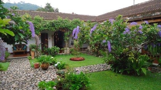 Hostal San Nicolas: Jardines