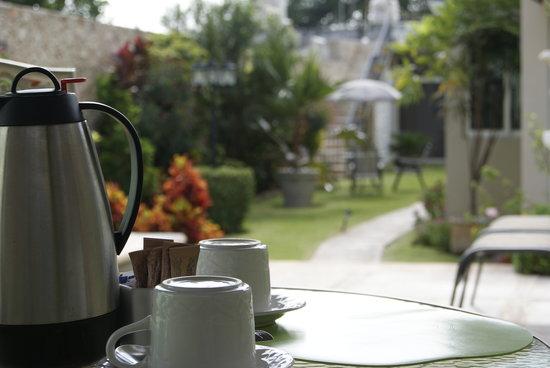 Hotel Casa Nobel: servicio de cafe