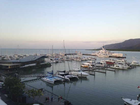 Shangri-La Hotel, The Marina, Cairns : view