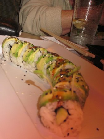 Aloha Sushi: The Caterpillar- my favorite