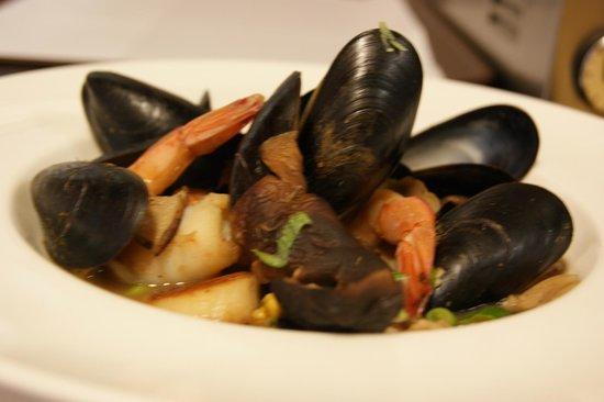 Greenville Inn: Seafood medley
