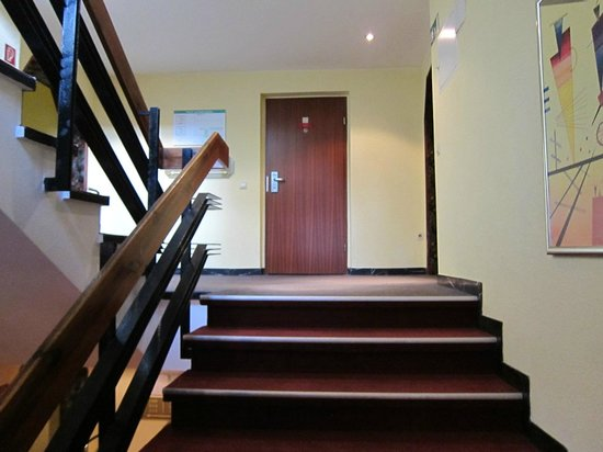 Leonardo Hotel Freital: レオナルド ホテル ドレスデン フライタール  ・・・階段室