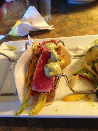 Milestones: Ahi Tuna Tacos