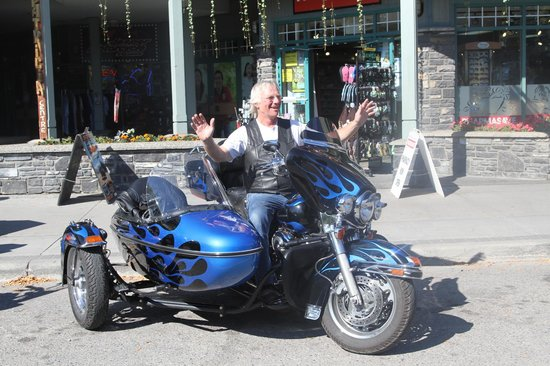 Jasper Motorcycle Tours Day Tours: Even the rider was full of Fun