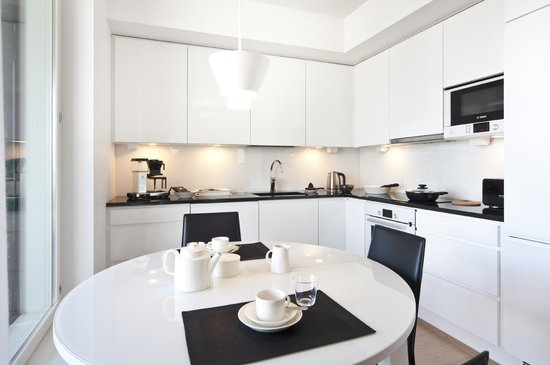 Aallonkoti Hotel Apartments: Duplex fully equipped kitchen