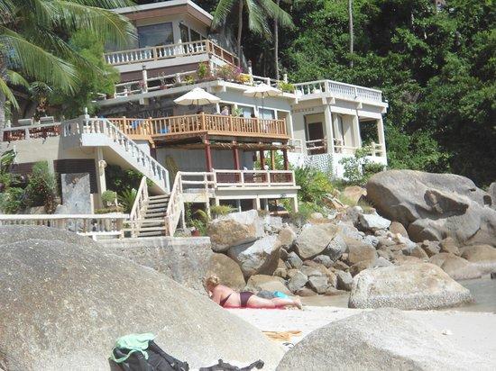 Thong Takhian Beach (Silver Beach) : budget resort on silvers beach