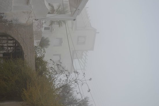Senses Boutique Hotel : our hotel in the fog