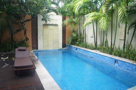 Bhavana Private Villas : プライベートプール