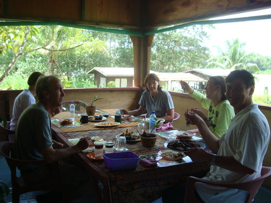 Sukau, Malaysia: guest having a great time