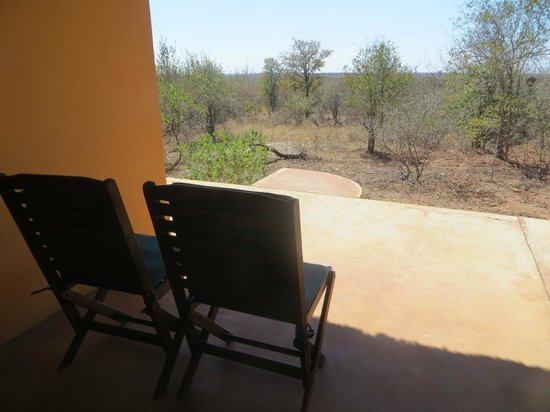 Silonque Bush Estate: view from our terrace