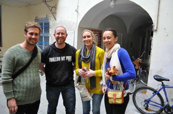 City Bike Prague : Alex fron City Bikes, great bloke!