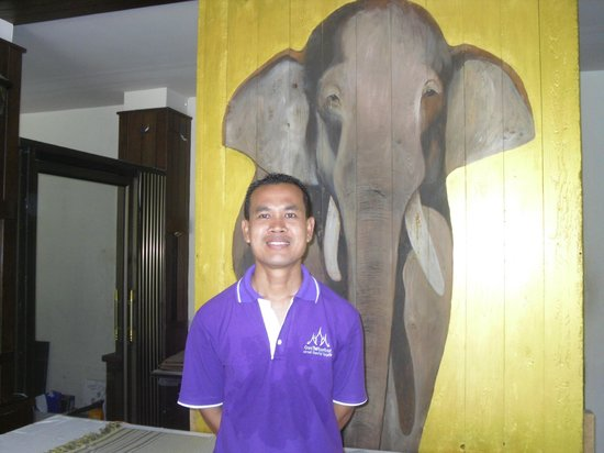 Grand Thai House Resort: le responsable; un garcon extra