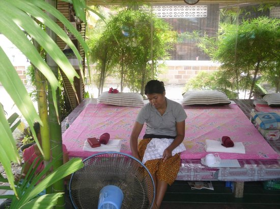 Grand Thai House Resort: salon de massage ,exeptionnel .